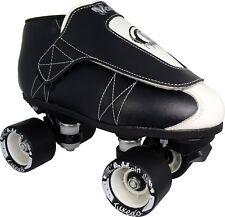 Tuxedo Jam Skates - Quad Roller Skate - Rythmn Skating - Men & Women - Vanilla