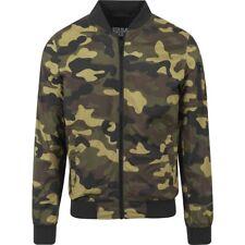 Urban Classics-light camo Bomber chaqueta Wood camo