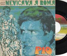 PIO disco 45 giri  ITALY CLAN Adriano CELENTANO Sanremo 1970 Nevicava a Roma