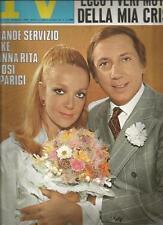 [KMJ] TV SORRISI E CANZONI ANNO 1968 N°42 IL MATRIMONIO DI MIKE BUONGIORNO