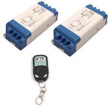 Wireless  Switch Remote Control Lamp Light LED Fan On/Off 2 Way 110V 220V 240V
