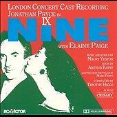 Nine [London Concert Cast Recording] by Jonathan Pryce (CD, Oct-1992, RCA) PROMO