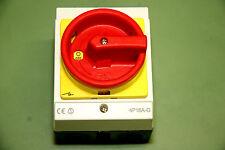 Rolltor Hauptschalter 4P16A-6 im Aufbaugehäuse NEU und OVP inkl. 2 Kabelverschr.