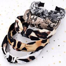 Leopard Hairband Snake Animal Print Knotted Headband Head Hoop Hair Accessories