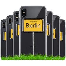 dessana Ortseingangsschilder TPU Silikon Schutz Hülle Case Handy Cover für Apple