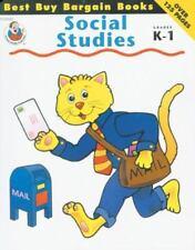 Best Buy Bargain Books: Social Studies, Grades K-1