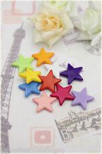 30 stelle perle resin distanziatore 2cm bracciali orecchini collane perline
