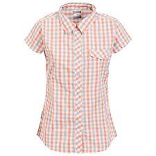 Trespass - Tilley - Camicia a maniche corte a quadretti - Donna (TP3501)