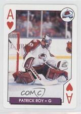 1996-97 Bicycle NHL Hockey Aces Playing Cards Box Set Base #1H Patrick Roy Card