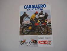 advertising Pubblicità 1975 FANTIC CABALLERO RC 50/125