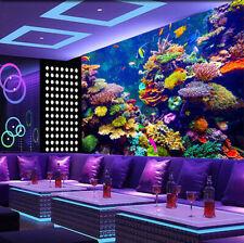 3D Sea Seaweed Fish 724 Wallpaper Mural Paper Wall Print Wallpaper Murals UK