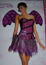 Sexy purple angel costume,Women M (8-10),fairy,Theatre,masquerade,Halloween