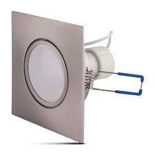GU10 5W Einbaustrahler LED Warmweiß Einbauleuchte 230V Set Flach Leuchtmittel