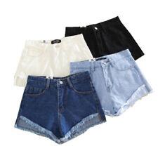 Summer Shorts Korean Women Slim Fitness Sexy Denim High Waist Casual Shorts JCAU