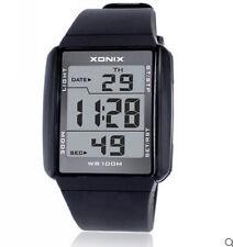 XONIX Men Boys Sports Watch Digital WR100M Led Light Outdoor Wristwatch swim