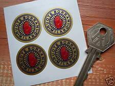 BORRANI Gold classic racing car wheel rim stickers
