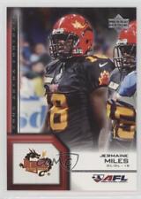 2006 Upper Deck Arena Football #128 Jermaine Miles New York Dragons (AFL) Card