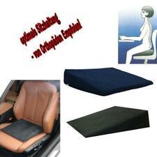 Keilkissen Sitzkissen orthopädisches Kissen Lagerungshilfe f. Auto Büro Freizeit