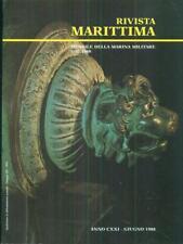 RIVISTA MARITTIMA 6 / GUUGNO 1988  AA.VV. RIVISTA MARITTIMA 1988