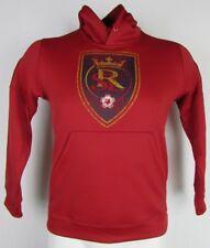 Real Salt Lake adidas Climawarm Pullover Hoodie Red MLS XL 2XL