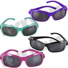 Kids Bling Sun Glasses Trendy Rhinestone Summer Shades Childrens Favor RM2383