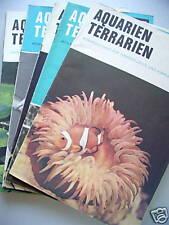 12 Hefte Aquarien Terrarien 17. Jg. 1970 komplett