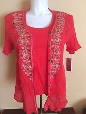 JM Collection top / blouse (2-piece garment)