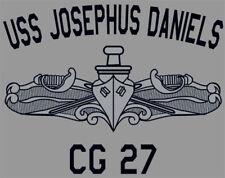 US Navy USS Josephus Daniels CG-27 T-Shirt