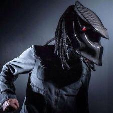 Motorcycle Helmet Predators Mask Carbon Fiber Neca Full Face Iron Man Safety DOT