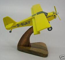Denney Kitfox 4 Private Airplane Wood Model Free Ship