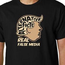 Le vrai faux media donald trump t-shirt alternative faits geek humour citation nous