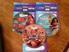 Various Disney Blu-Ray'S With Digital Copy