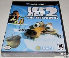 Ice Age 2: The Meltdown (Nintendo, GameCube ) ..Brand NEW!! y-folds!