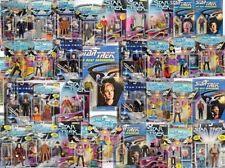 STAR TREK VARIOUS CARDED FIGURES - ALL MOC - SEE PHOTOS!