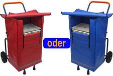 Klappbarer Zeitungsroller Multi2 Zeitungswagen inkl. 1 Big Bag Zeitungstasche