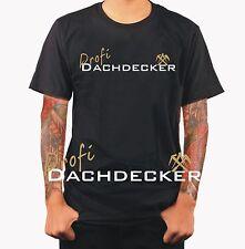 Profi Dachdecker Evolution Meister Beruf Funshirt T-Shirt Geschenk Werkzeug S453