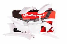 48052: POLISPORT Kit plástica Polisport Honda blanco 90538