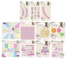Crafters Companion Sara Signature Collection Fiesta de Cumpleaños Cardmaking