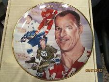 Gordie Howe Detroit Red Wings  Gartlan Signed Autograph Plate   limited