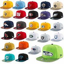 NEW ERA CAP 9FIFTY Snapback NFL Sideline 2017 Seahawks Patriots Raiders