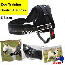 Adjustable Large Dog Training Control Comfy Pet Harness Support Pulling Vest OZ