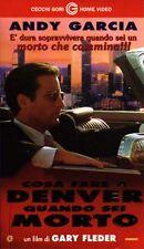 Cosa fare a Denver quando sei morto (1995) VHS CGG  Andy Garcia