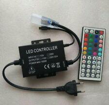 220V 240V Led RGB Remote controller dimmer with 44 key IR remote Control 1500W