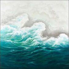 Atelier ANCH : Seaside Imagen Camilla lienzo Mar ondas Brandung azul moderno
