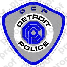STICKER Detroit OCP Police Department