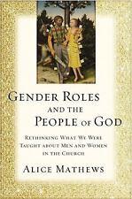 Gender Roles People Of God Pb  (UK IMPORT)  BOOK NEW
