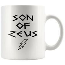 Son of Zeus Greek Mythology Demigod White Ceramic Coffee Mug