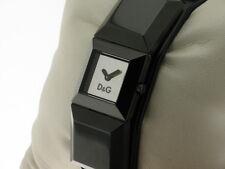 D&G orologio Dance acciaio PVD nero e cinturino pelle nera referenza DW0274 new