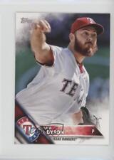 2016 Topps Mini Online Exclusive Base #389 Sam Dyson Texas Rangers Baseball Card
