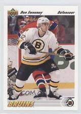 1991-92 Upper Deck French #338 Don Sweeney Boston Bruins Hockey Card